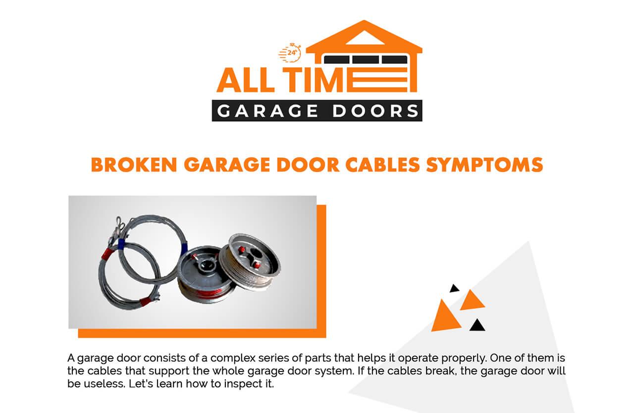 Broken-Garage-Door-Cables-Symptoms